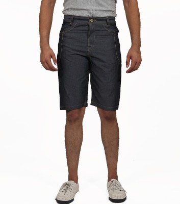 Masculine Affair Solid Men's Black Boxer Shorts