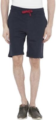 U.S. Polo Assn Solid Men's Blue Basic Shorts