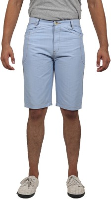 Masculine Affair Solid Men's Blue Boxer Shorts