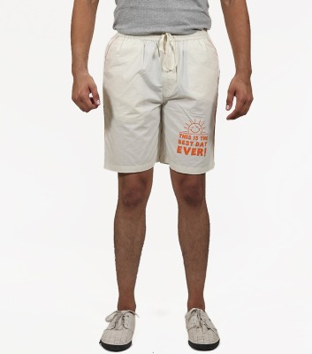 Masculine Affair Solid Men's White Boxer Shorts