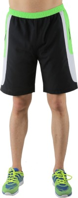 Admiral Solid Men's Green Sports Shorts
