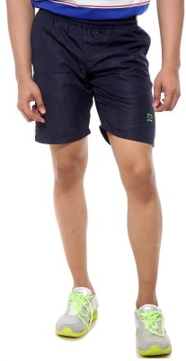 Sports 52 Wear Solid Men's Blue Sports Shorts  available at flipkart for Rs.445