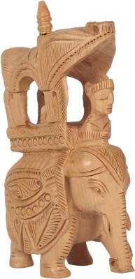 Rajrang 70 Decorative Showpiece   13 cm Wood, Brown
