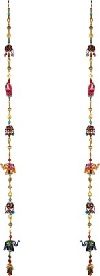 Rajrang Decorative Showpiece   102 cm Wood, Multicolor