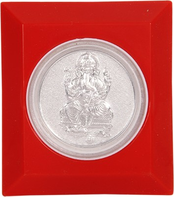 Silverwala 999 Pure Silver Ganesha Photo Frame (7*6.5) Showpiece  -  0.3 cm(Silver, Silver)  available at flipkart for Rs.182