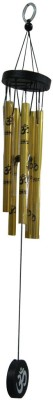 Aaradhi Divya Mantra Feng Shui Om Wind Chime for Positive Energy Showpiece  -  59 cm(Acrylic, Yellow)  available at flipkart for Rs.325