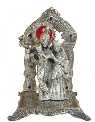 40 Off On Divinecrafts White Metal Radha Krishna Idol Decorative