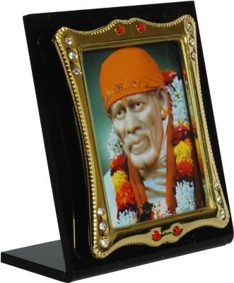 Sigarma Sai Baba Idol Frame - For Car Dashboard, Office-Desk, Table Decor, Home and Shop - K501 Showpiece  -  7 cm(Acrylic, Multicolor)  available at flipkart for Rs.255
