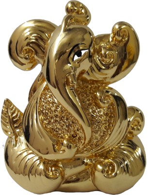 R P Collections Ganesh Idols Gold Plated Ganesh Idols Idols For Car Dashboard Gold Plated Idols Ganpati Idols For Car Dashboard Gold Plated