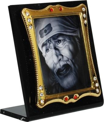 Sigarma Sai Baba Idol Frame - For Car Dashboard, Office-Desk, Table Decor, Home and Shop - K497 Showpiece  -  7 cm(Acrylic, Multicolor)  available at flipkart for Rs.255