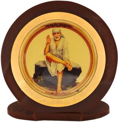 Leganza Sai Baba Car Dashboard God Idol Showpiece  -  3 cm(Plastic, Brown)  available at flipkart for Rs.255