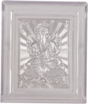 Silverwala 999 Pure Silver Ganesha Photo Frame (6*5) Showpiece  -  0.3 cm(Silver, Silver)  available at flipkart for Rs.171