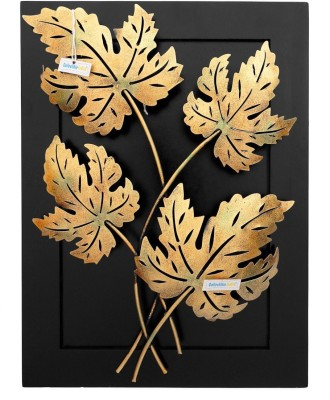 Collectible India Decorative Showpiece  -  80 cm(Cast Iron, Gold) at flipkart