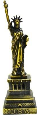Jaycoknit New York City's Collectible Statue of Liberty Showpiece   15 cm  Brass, Multicolor  Decorative Showpiece     15 cm Brass, Gold