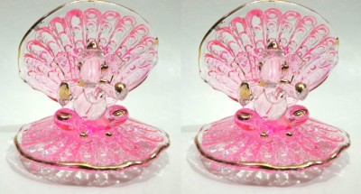 773c1a036 Glass Street Hand Dil Showpiece 7 cm Glass Multicolor Best Price in ...