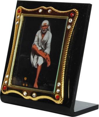 Sigarma Sai Baba Idol Frame - For Car Dashboard, Office-Desk, Table Decor, Home and Shop - K499 Showpiece  -  7 cm(Acrylic, Multicolor)  available at flipkart for Rs.245