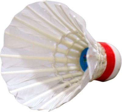 Sagar Chingari cock Feather Shuttle    White Medium, 77, Pack of 10