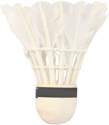 Mrbidea Danish Feather Shuttle   White Medium, 77, Pack of 10