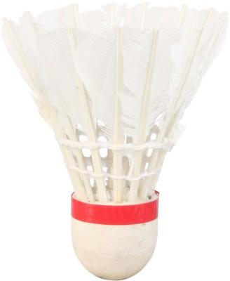 Mrbidea Lanser Feather Shuttle   White Medium, 77, Pack of 10 Mrbidea Shuttles