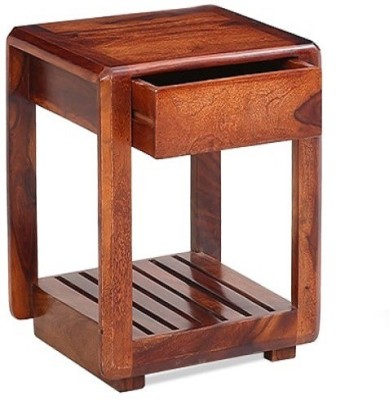 Ringabell Layne Solid Wood Bedside Table(Finish Color - Teak)