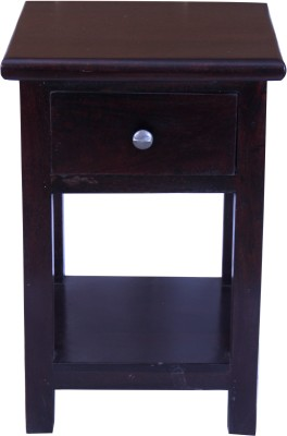 Kingscrafts Solid Wood Side Table(Finish Color - Brown)