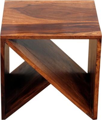 Induscraft Dispal Solid Wood Bedside Table(Finish Color - DARK NATURAL (104))