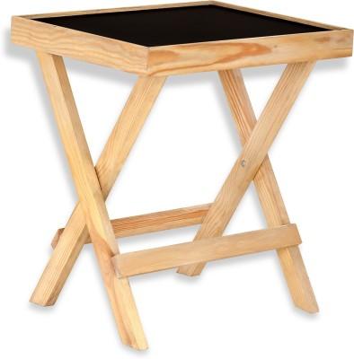 NETWOOD DESIGNER Solid Wood Side Table(Finish Color - Natural Matte Finish)