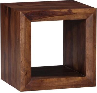Ringabell Deko Solid Wood End Table(Finish Color - Teak)