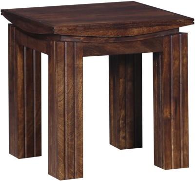 Ringabell Designer Solid Wood End Table(Finish Color - Provincial Teak)