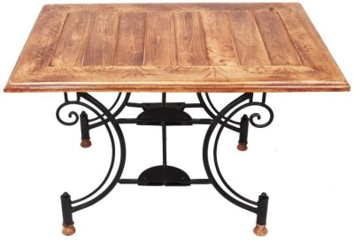 Onlineshoppee AFR1046 Solid Wood End Table(Finish Color - Walnut Brown)