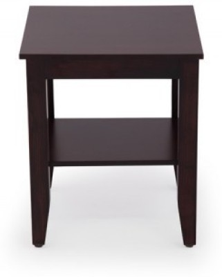 Jivan Solid Wood Bedside Table(Finish Color - Walnut Brown)
