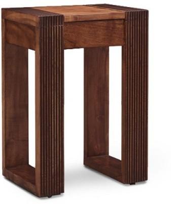 Ringabell Craft Leg Solid Wood Bedside Table(Finish Color - Teak)