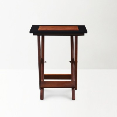 Kingscrafts KC-ST209 Solid Wood Side Table(Finish Color - Brown)