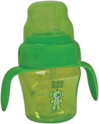 MeeMee 2-in-1 Spout & Straw Sipper Cup(Green)