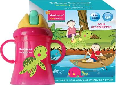 Morisons Baby Dreams Aqua Straw Sipper(Pink)