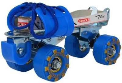 JJ Jonex HIGH QUALITY SUPER ATTACK Quad Roller Skates - Size 3-10 UK(Blue) Flipkart