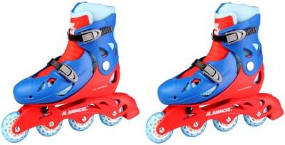 bb136c7c15c3 35% OFF on KAMACHI shoe In-line Skates - Size 7-8 UK(Multicolor) on  Flipkart
