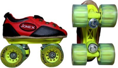 Jonex Professional Quad Roller Skates - Size 2 UK(Multicolor)