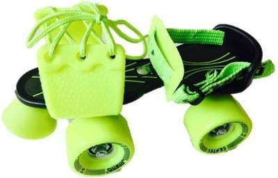 Jaspo Marshal Quad Roller Skates - Size 1-5 UK(Black, Yellow)