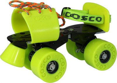 Cosco Zoomer Sr. (19.5 - 26.5 cm) Age Group (8+ Years) Quad Roller Skates - Size Kids 12 - Adults 8 UK(Multicolor)