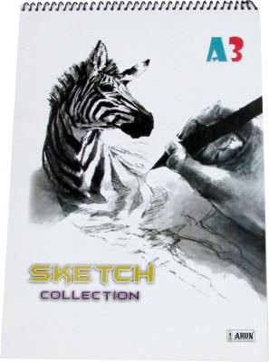 Gathbandhan X Series Unruled A3 Drawing Paper Set of 1, White