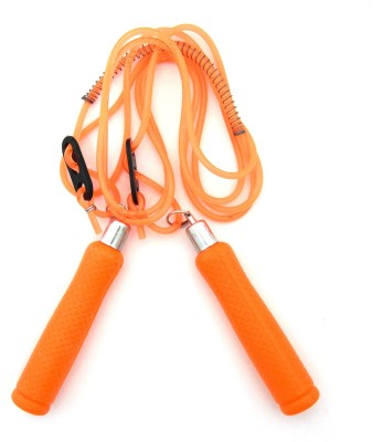 Sunley sunley leap pvc jump rope orange Speed Skipping Rope(Orange, Pack of 1)  available at flipkart for Rs.99