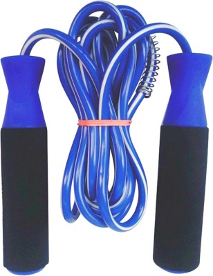 Tenstar Freestyle Fitness Gym training and home exercise Freestyle Skipping Rope(Blue, Pack of 1)  available at flipkart for Rs.140