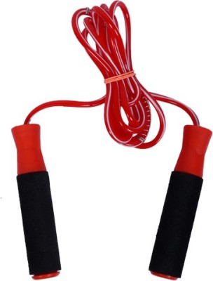 shital shital jump in adults and kids ball bearing skipping rope red Ball Bearing Skipping Rope(Red, Black, Pack of 1)  available at flipkart for Rs.121