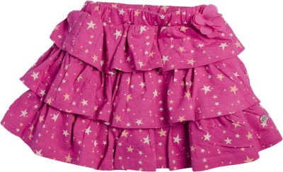 FS Mini Klub Printed Baby Girls A-line Pink Skirt  available at flipkart for Rs.239