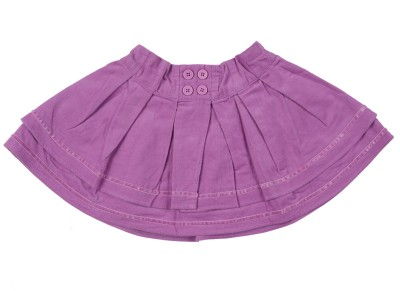 Addyvero Polka Print Baby Girls Gathered Pink Skirt