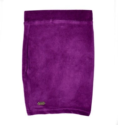 Lil Orchids Solid Baby Girls Pencil Purple Skirt  available at flipkart for Rs.279