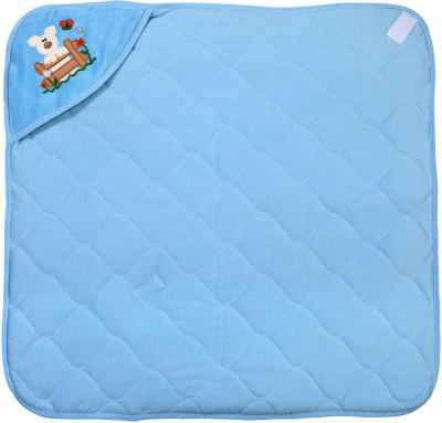 Hugs & Cuddles Baby Wrapper Printed Premium Sleeping Bag(Blue)