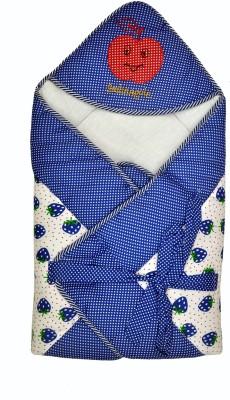 Jhankhi New Born Baby Soft Cotton Velcro Sleeping Bag(Blue)