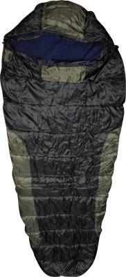 Bs Spy Bag With Woolen Inner And Cap Sleeping Bag(Black)